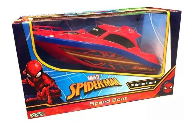 Speed Boat Spiderman