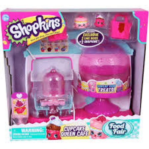 Cupcake queen cafe Shopkins