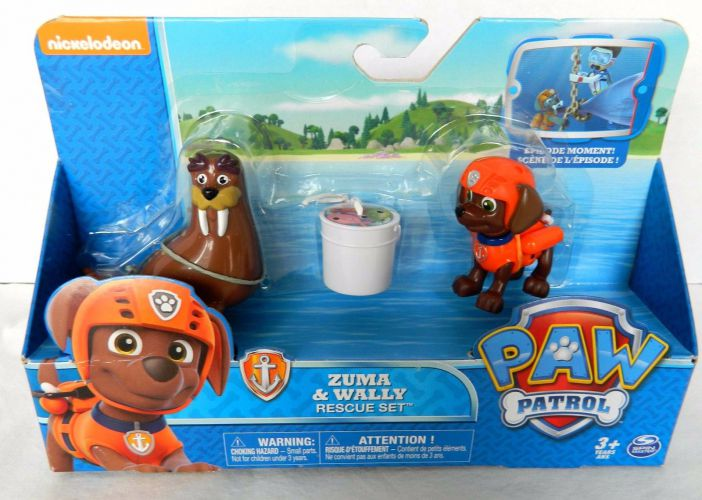 Paw Patrol ZUMA Y WALLY