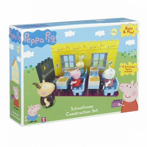 Set de construccion Escuela Peppa Pig
