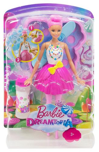 Barbie Dreamtopia con burbujas