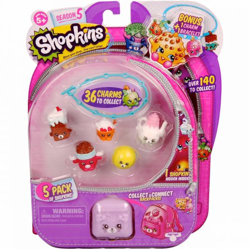 Pack 5 Shopkins SERIE 5