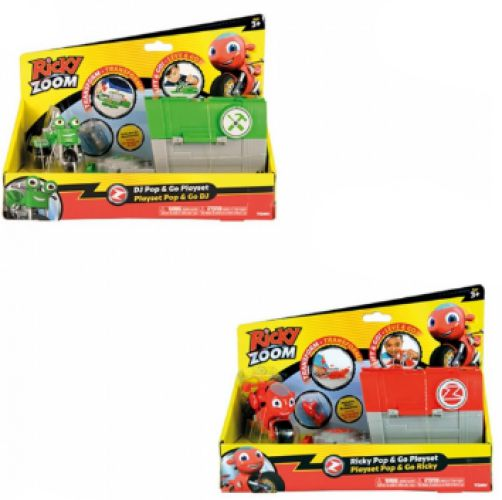 Ricky Zoom Pop and Go Playset
